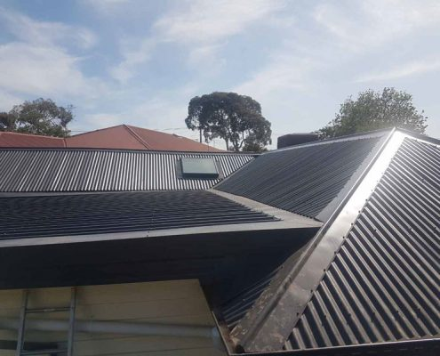 metal roof replacement