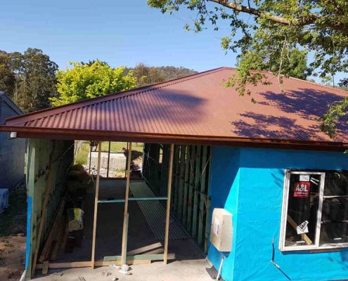 new colorbond roof
