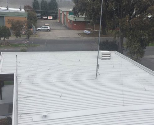 commercial re-roofing