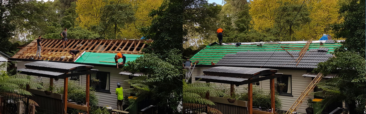 tile roof restoration